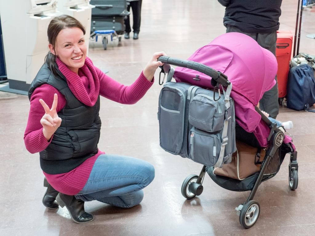 City Väskan : Baby jogger city tour som handbagage barnvagnsinspo