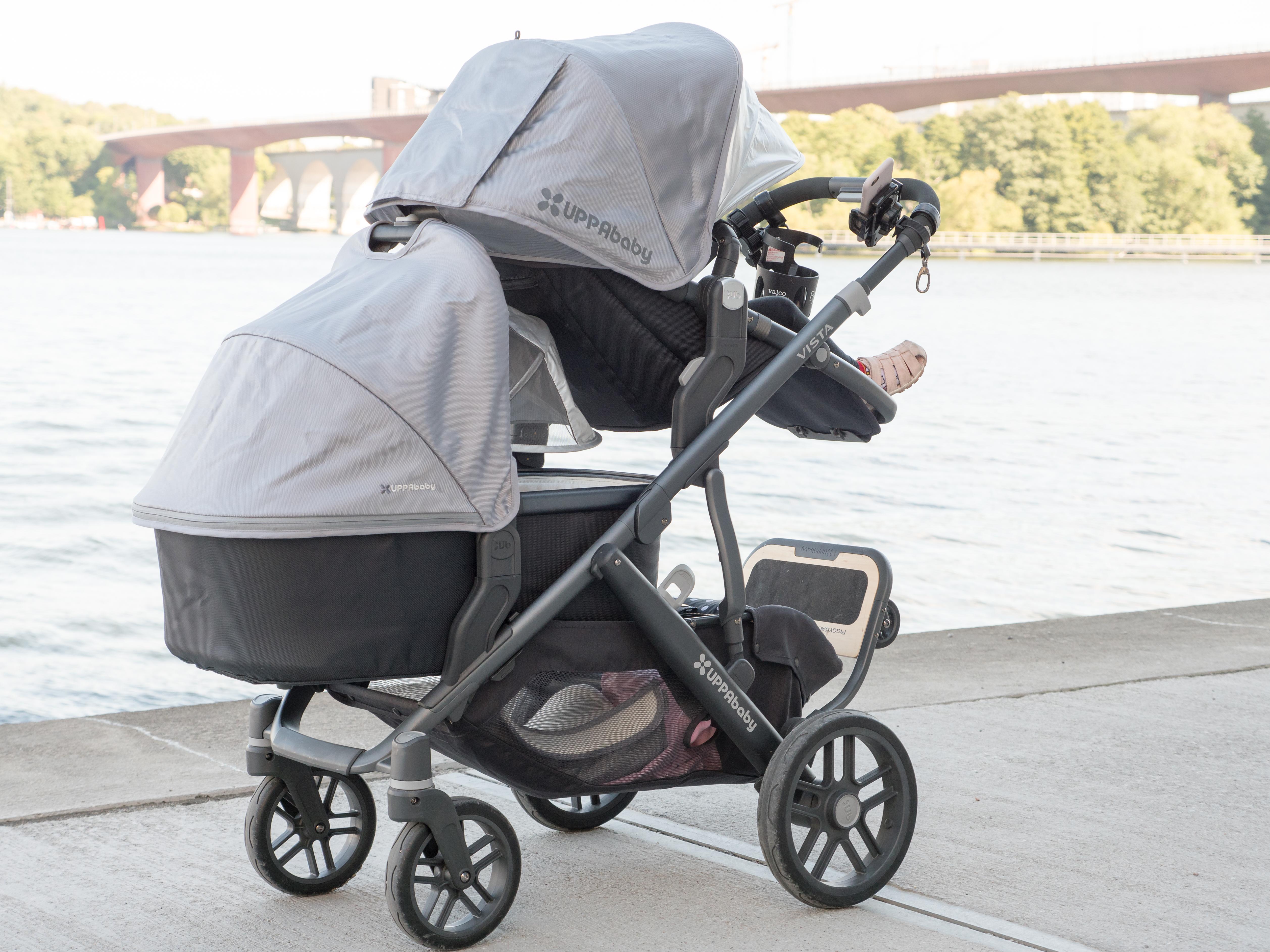 Uppababy Vista Vs Babyjogger City Select Lux Barnvagnsinspo